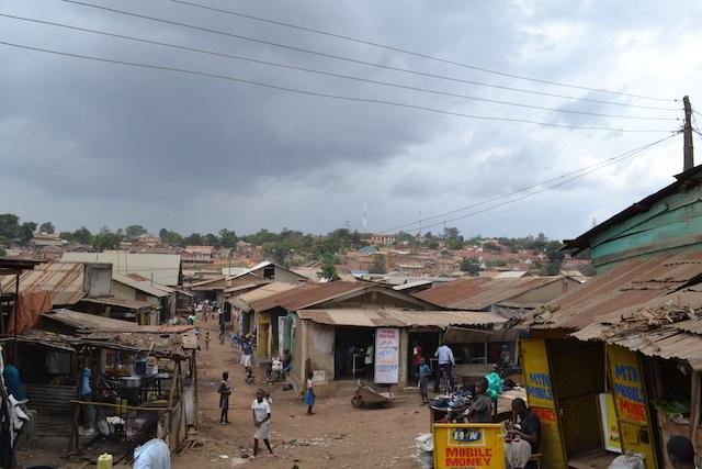 Ugandan slums - World Help