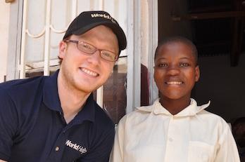 Kraig and Annet - World Help child sponsorship