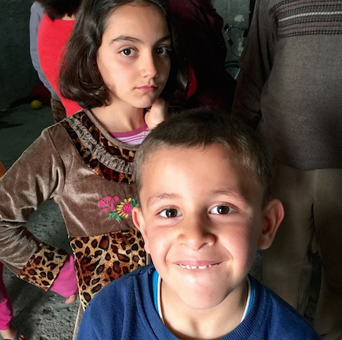 Iraqi refugee children - World Help