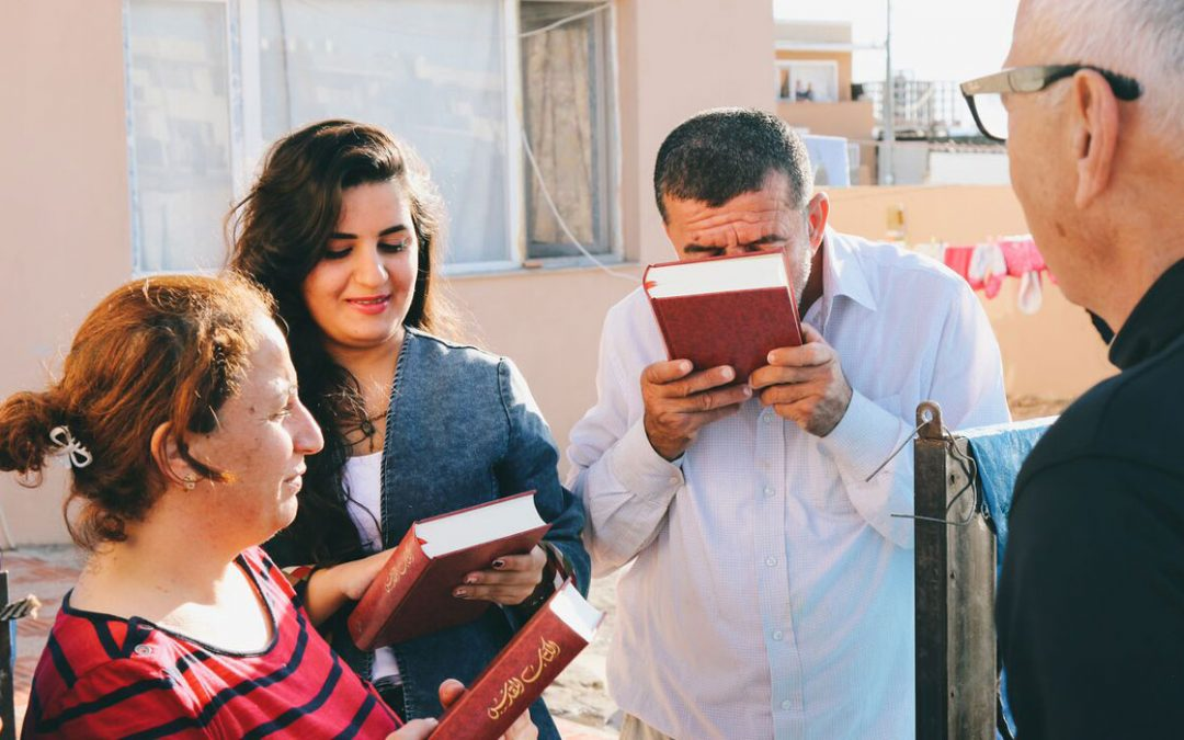 Bibles for Iraqi refugees