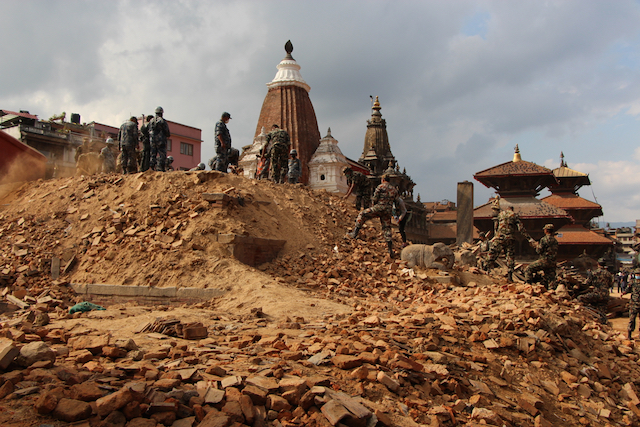 Kathmandu Nepal earthquake aftermath - World Help