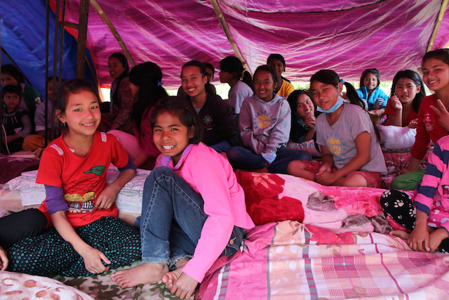 Nepal earthquake - child sponsorship programs