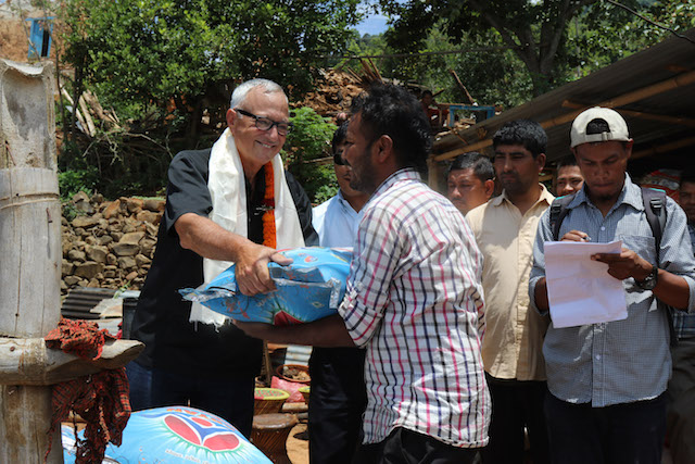 Aid for Nepali earthquake survivors - World Help