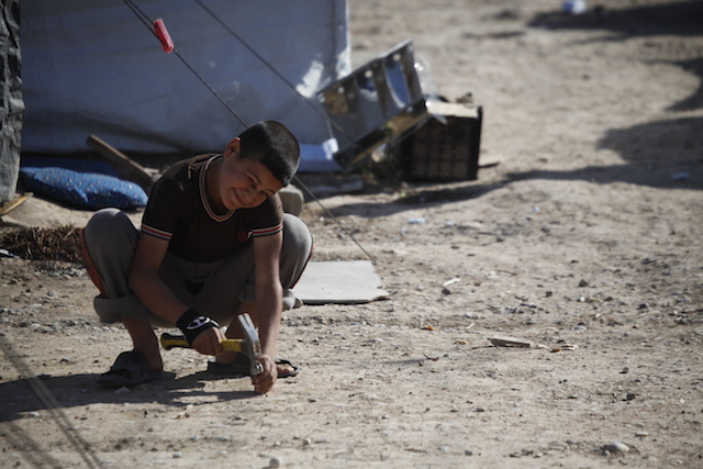 Life in a refugee camp - Iraq
