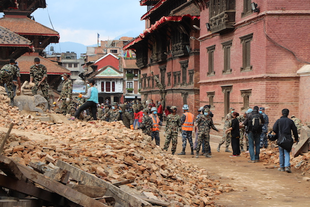 Nepal disaster - World Help