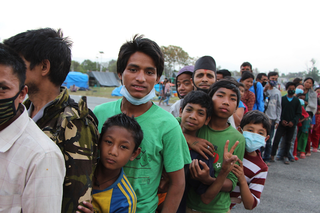 Nepal earthquake survivors - World Help