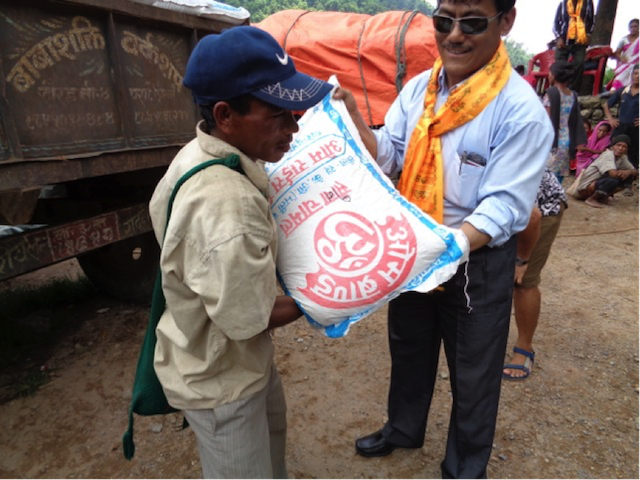 Nepal aid and relief - World Help