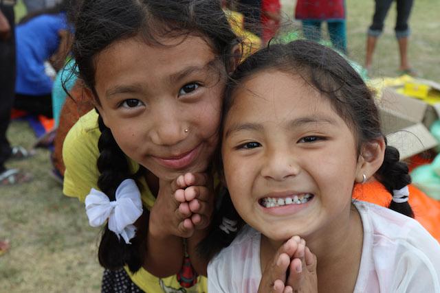 Nepali girls - World Help