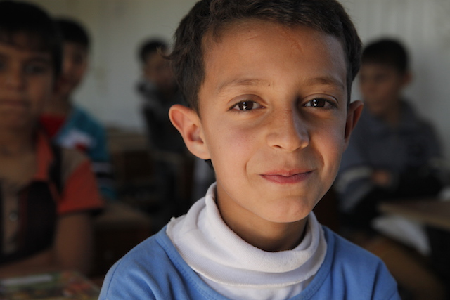 Iraqi refugee boy - World Help