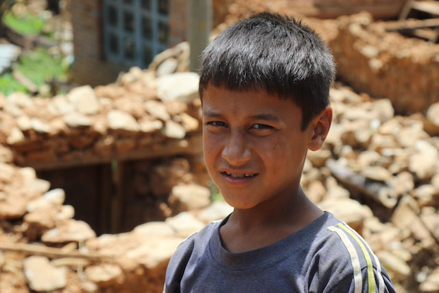 Nepali Boy - World Help