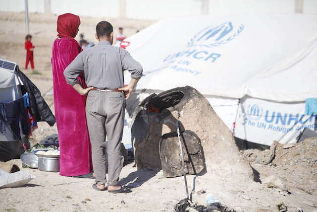 Refugee camp conditions - World Help