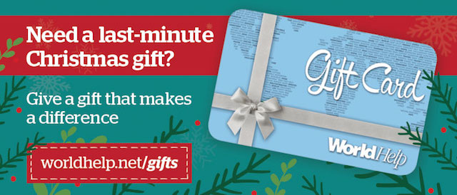 Last Minute Gift Cards - World Help Blog