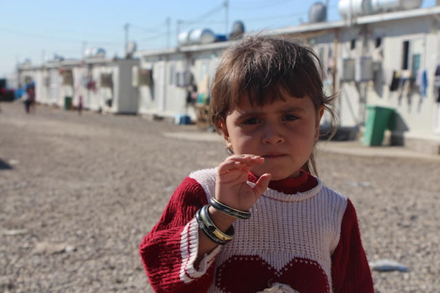 Iraq child displacement crisis - World Help