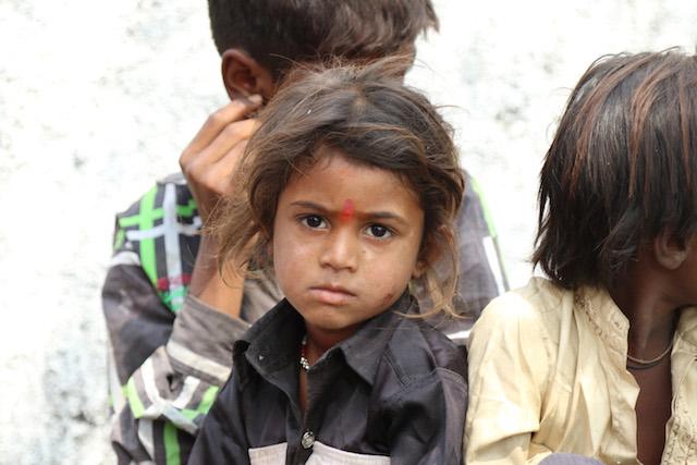 Child in India