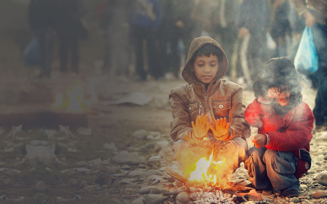 Watch: A Christmas message from the Syrian border