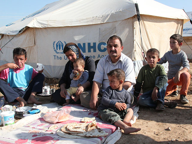 World Help Refugee Family
