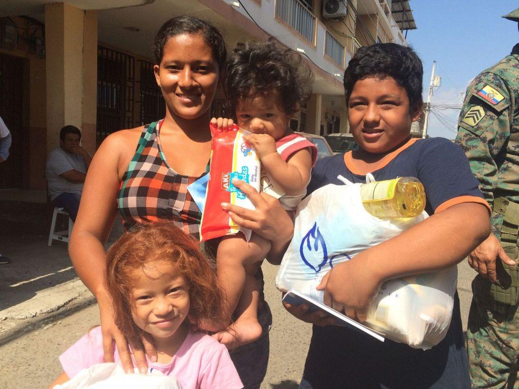Ecuador Relief