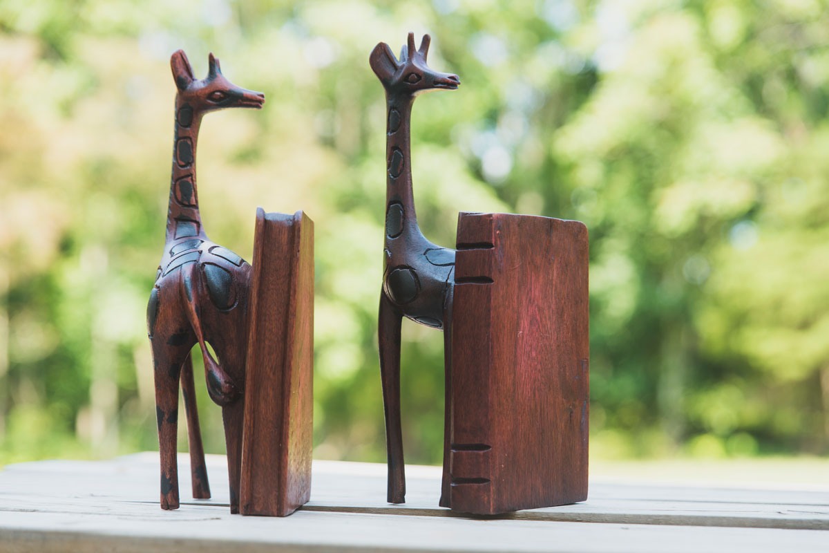 Another image about Giraffe Bookends