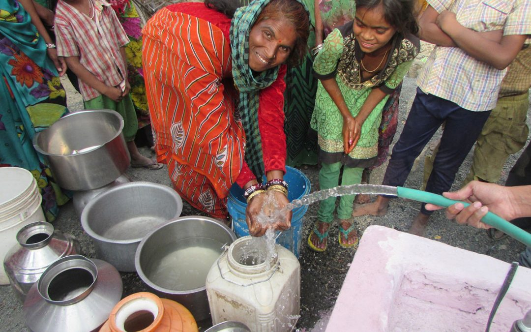 Clean water: a physical and spiritual healer