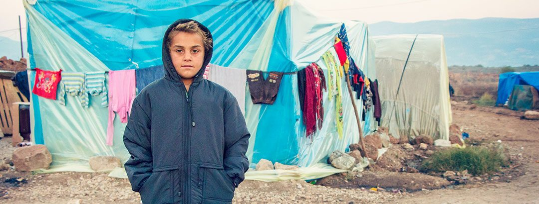 A refugee needs your help to survive the winter