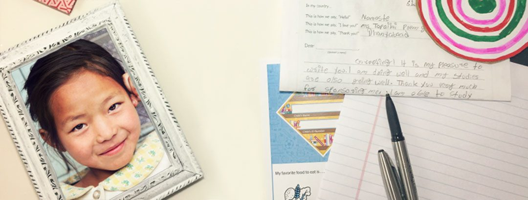 How Does My Letter Reach My Sponsored Child?
