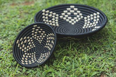 Hand-woven Rwandan Baskets