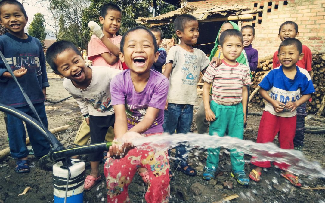 Clean water for Nepal earthquake victims