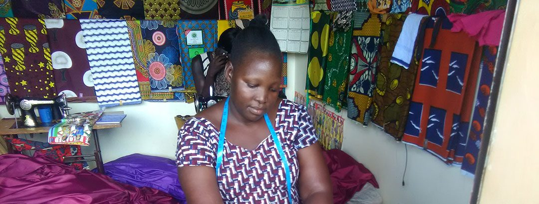 Altering a life with a sewing machine