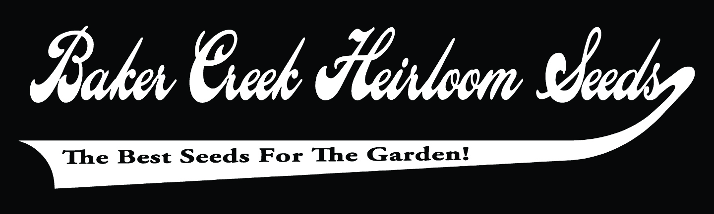 Logo of corporate partner, Baker Creek Heirloom Seed Co.