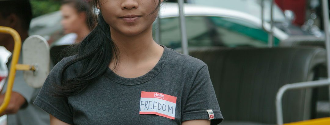 Every girl deserves freedom … especially on Human Rights Day