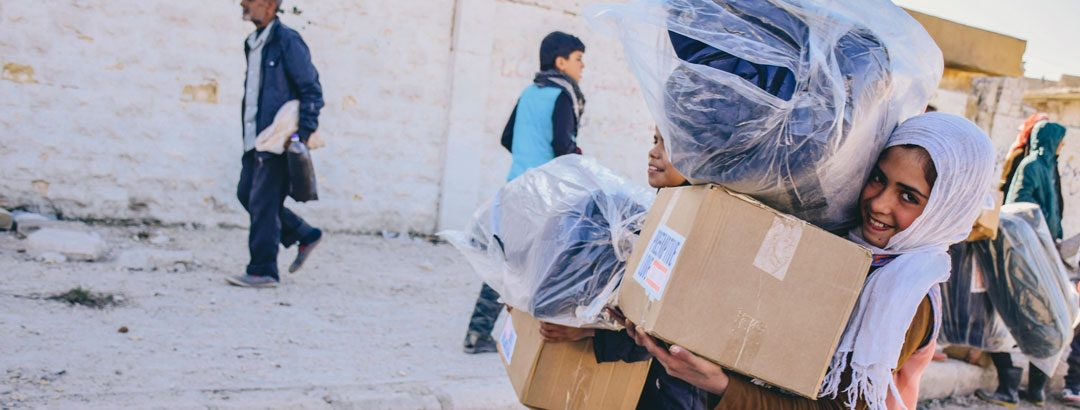 Urgent: Refugees need supplies to survive the winter
