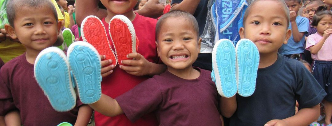 Christmas shoes for a child in need