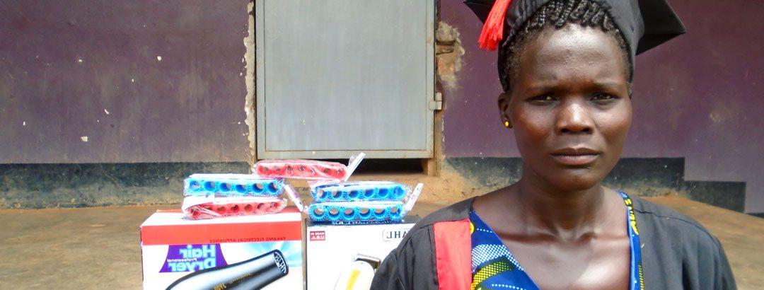 Empower a woman through vocational training