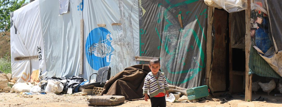 From the Field: Syrians living in miserable conditions