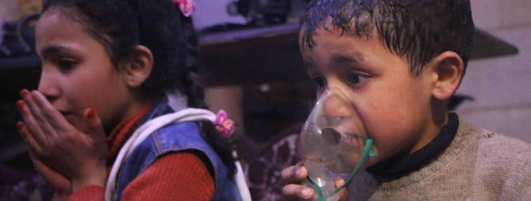 BREAKING: Chemical gas attack in Syria