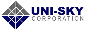 Logo of corporate partner, Uni-Sky Corporation
