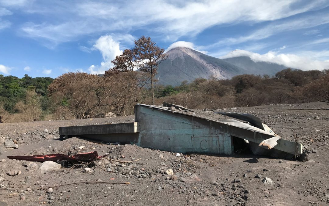 Build new homes for volcano victims
