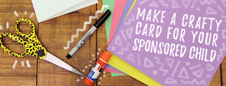 Preview thumbnail for the article: This pop-up card will make your sponsored child smile