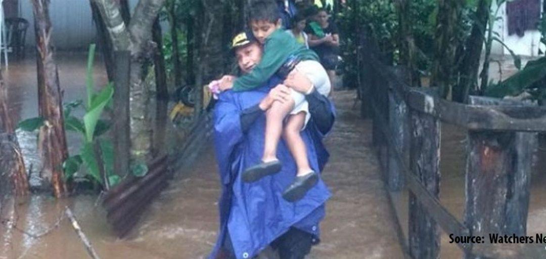 Help flood victims in Honduras