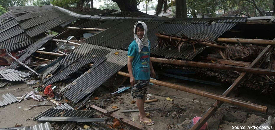 Help tsunami victims in Indonesia