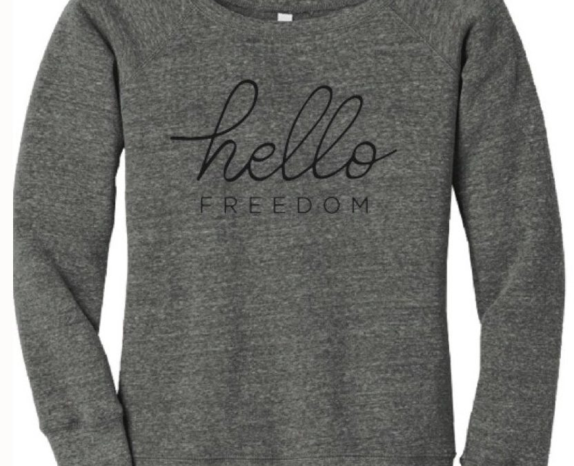 Hello Freedom Sweatshirt – XL