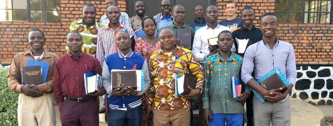 New study Bibles allow Rwandan pastors to dig deeper