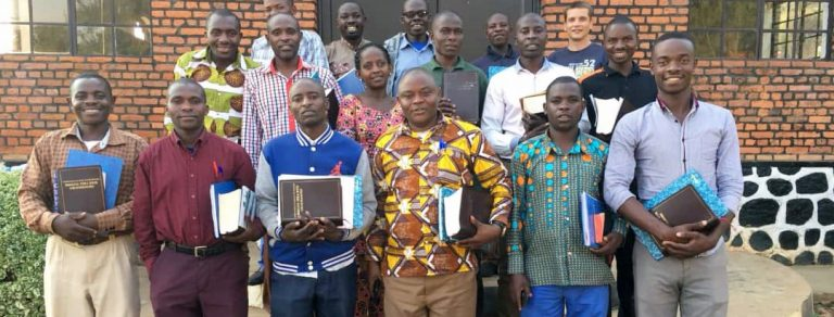 Preview thumbnail for the article: New study Bibles allow Rwandan pastors to dig deeper