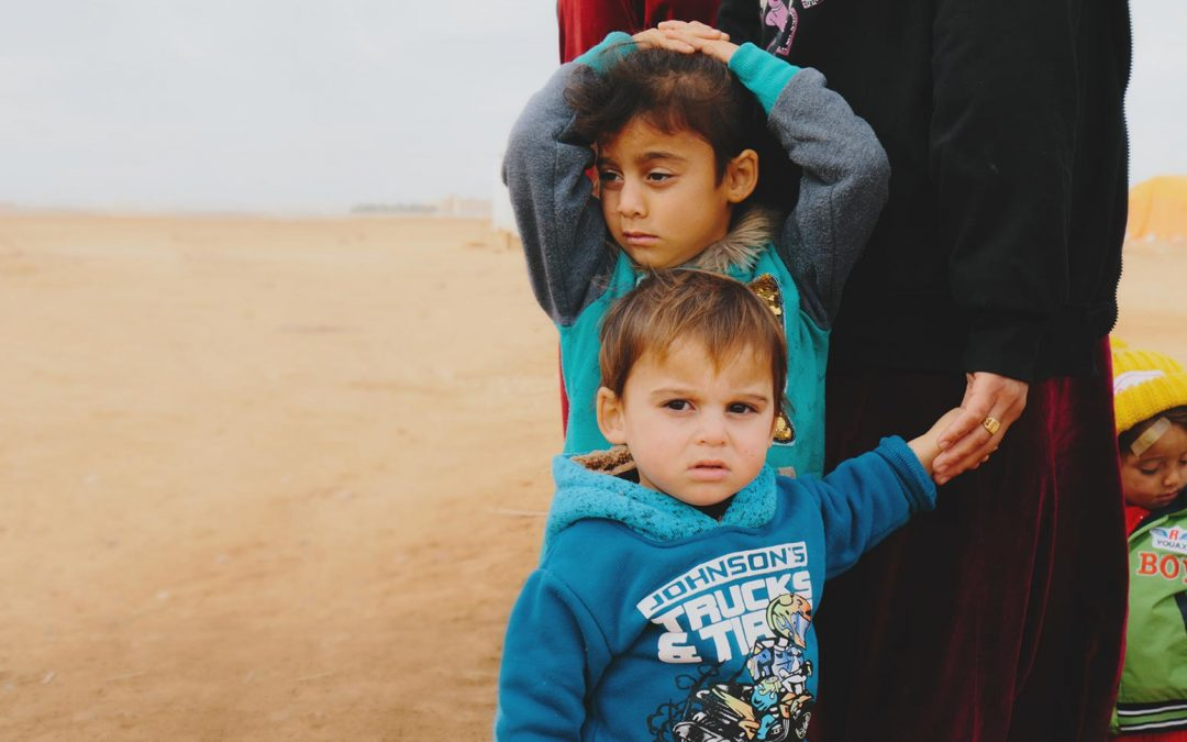 World Help brings Christmas to refugees near Syrian border