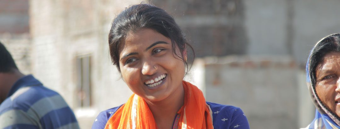 On the ground in India: Nisha's one of the lucky ones