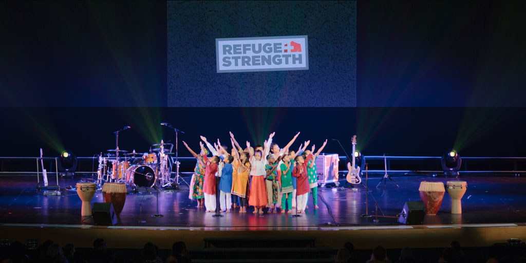 "East Oregonian | ""Children's choir spreads message of hope"""