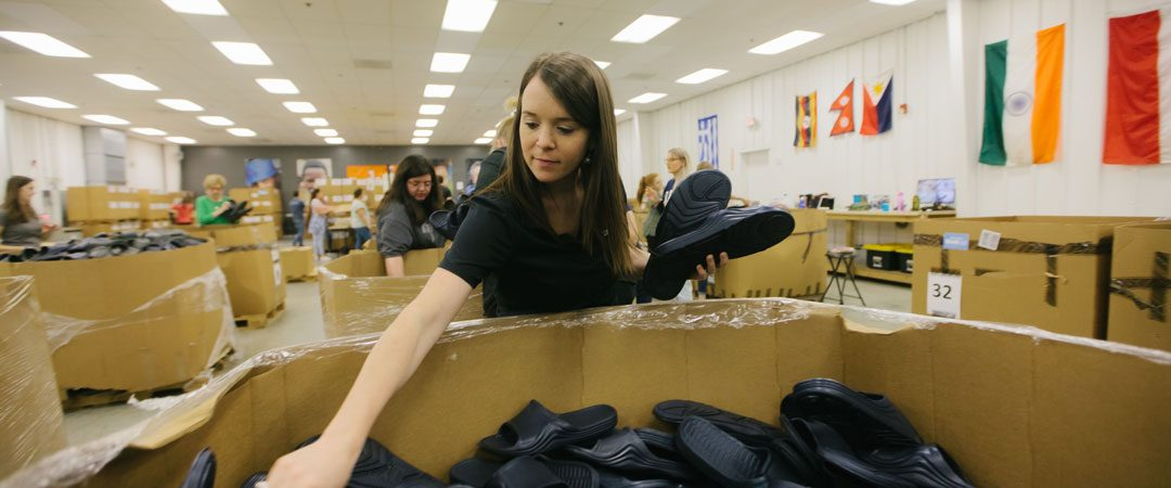 Cabin fever? Here's a safe place to volunteer