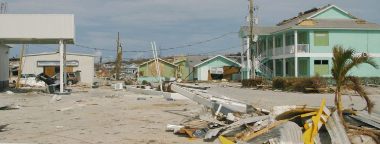 Preview thumbnail for the article: One month after Hurricane Dorian