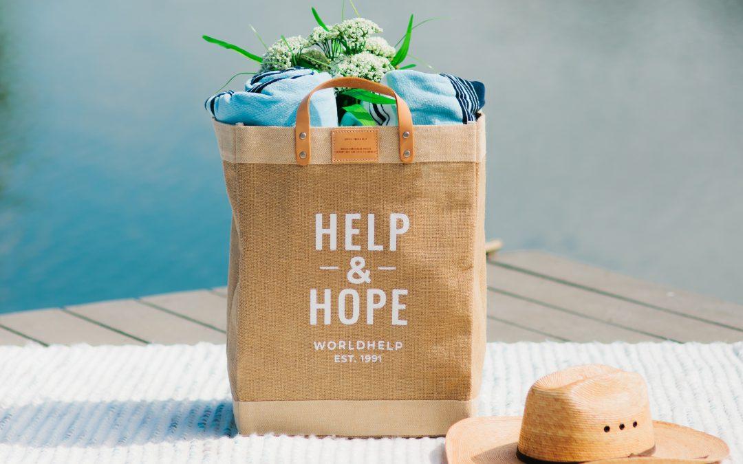 Help & Hope Market Tote