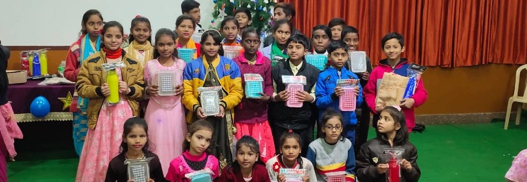You helped improve a child's life in India